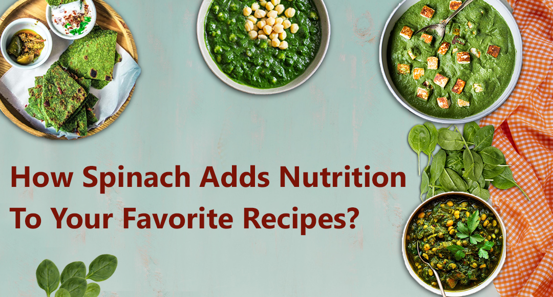 Spinach Recipes by GroceryBabu