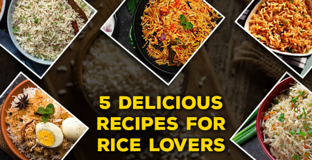 5 Delicious Recipes For Rice Lovers